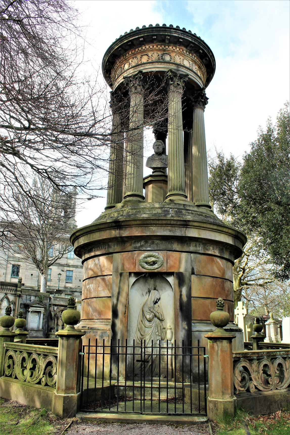 Mausoleum at Dean Cemetery