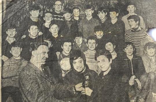 Broomhouse Youth Club 1960s