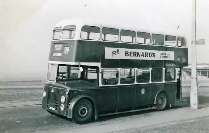 Sighthill Bus Terminus around 1957/8