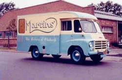 Martins the Bakers Mobile Van