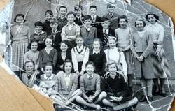 Wester Hailes Primary School -  Miss Mitchells class 1953/4