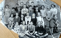 Wester Hailes Primary School -  Miss Mitchell's class 1953/4