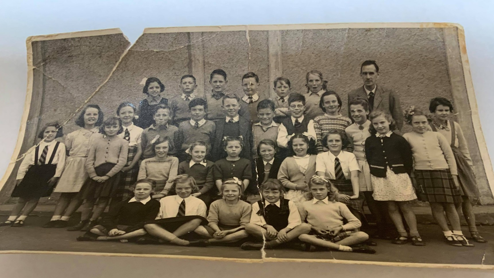 """Wester Hailes Primary School - Mr Sutherlands Class 1953/54 """"A"""""""