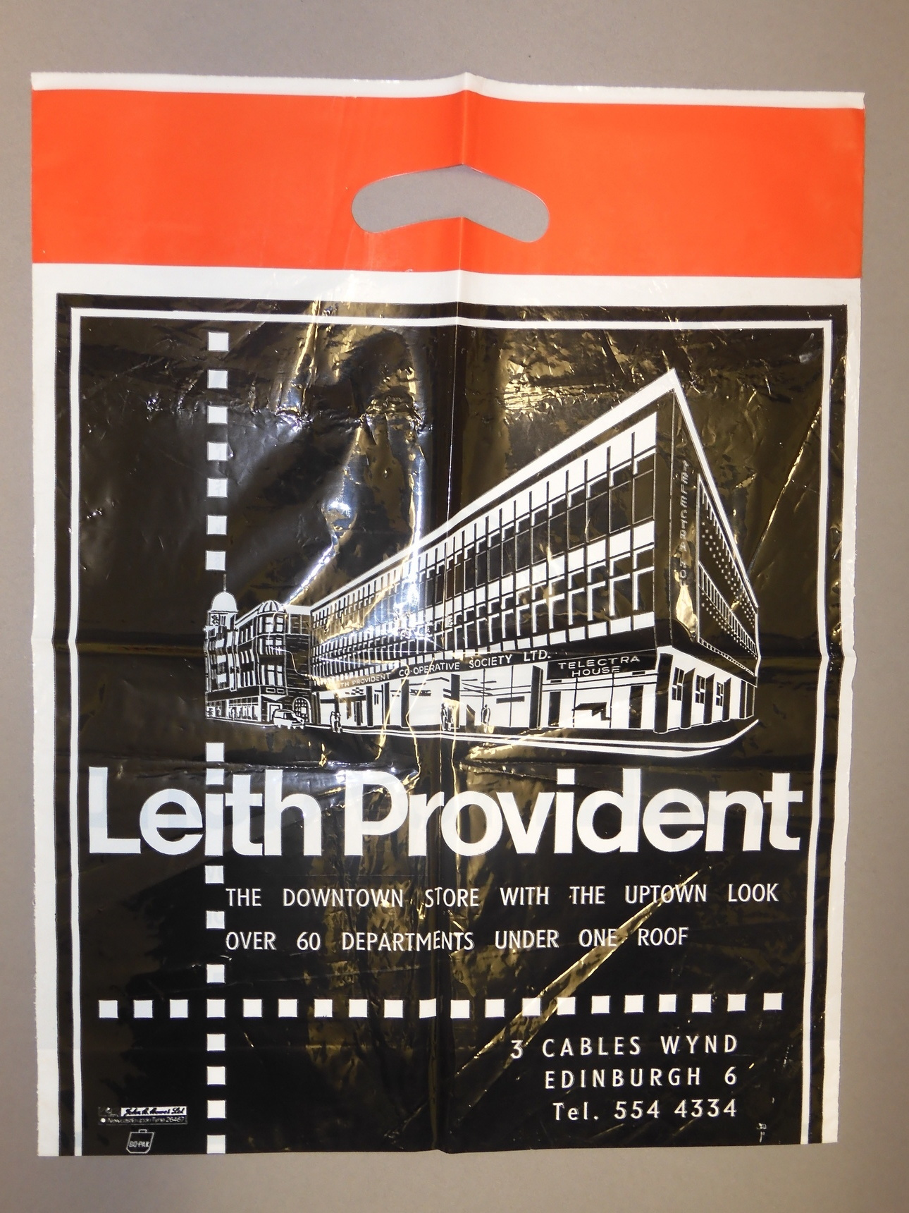 Leith Provident carrier bag