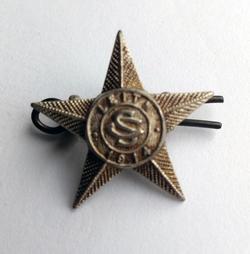 Leith Special Constabulary Shoulder Strap Button Badge 1914