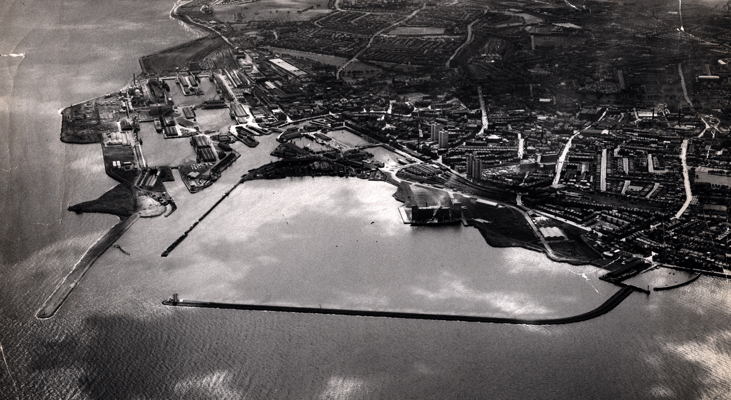 Leith Harbour And Docks c.1960