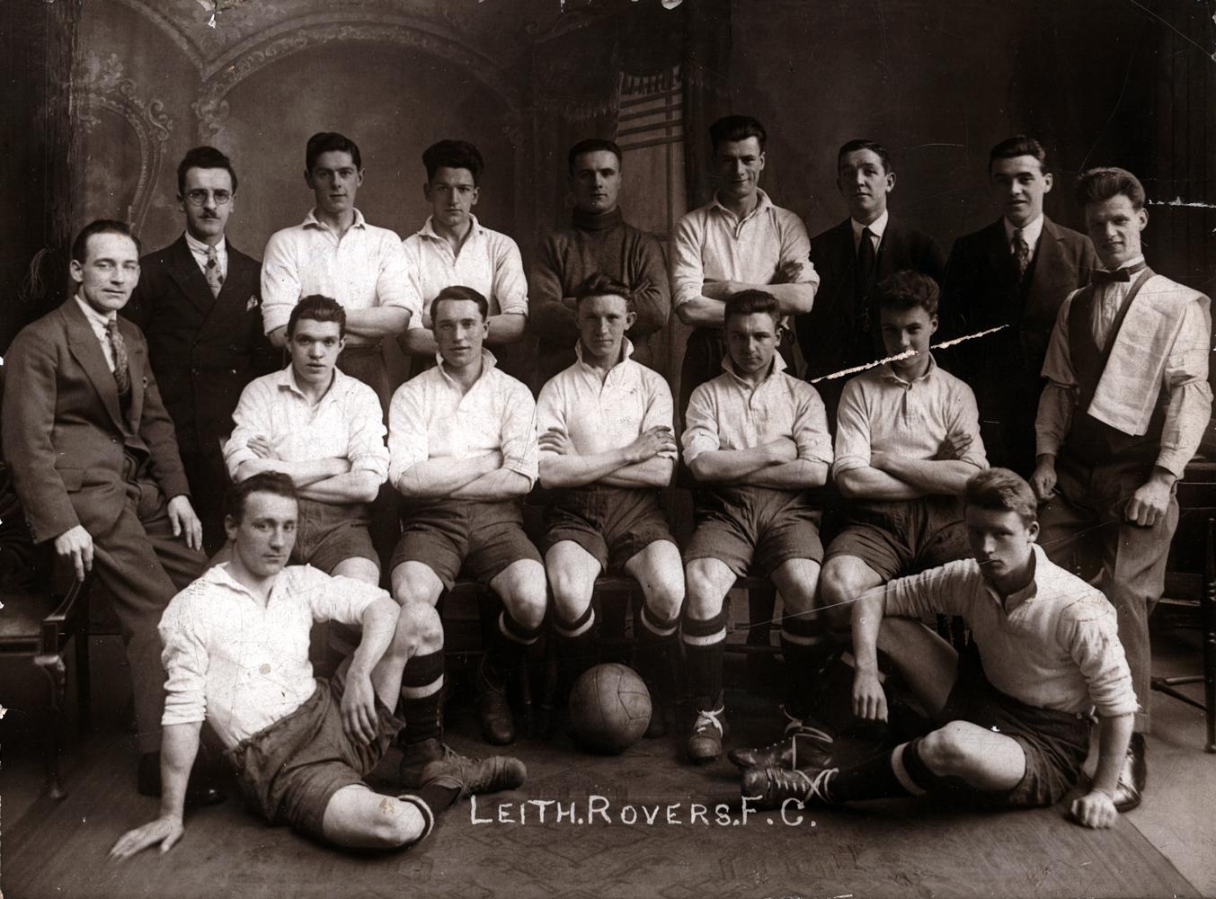 Leith Rovers Football Club Team 1900s