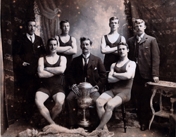 Leith Gymnasium Swimming Club, Winners Bennet Cup 1901