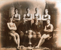 Leith Gymnasium Swimming Club, Winners Of Bennet Cup, And Runners-Up In Waddell Shield Competition 1902