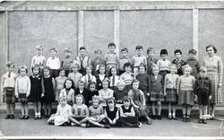 Wester Hailes Primary School - Miss Dodds Class P1- 1953