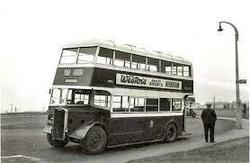Sighthill Bus Terminus 1950