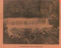 """A Turbulent River After the Recent Rains"""