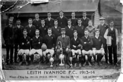 Leith Ivanhoe Football Club Team 1914