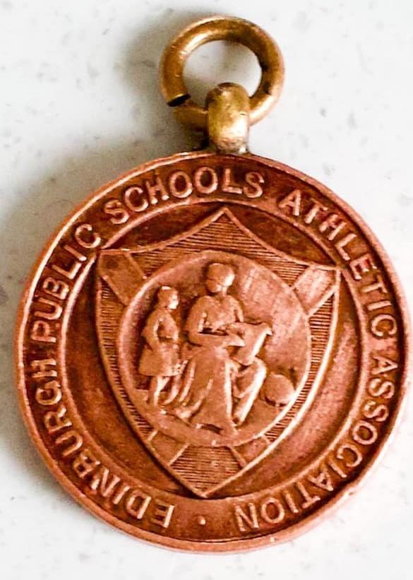 Murrayburn Primary School - Inspectors Cup Winners Medal 1962 (Front)