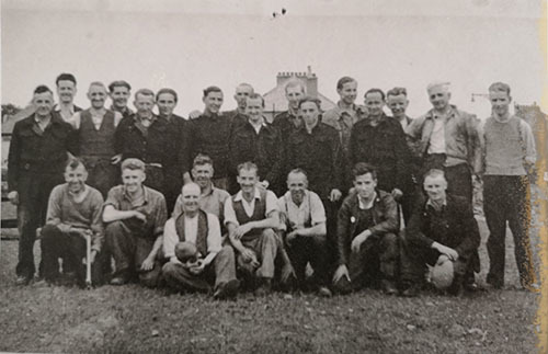 POWS and Sighthill Bowling Club Members 1947