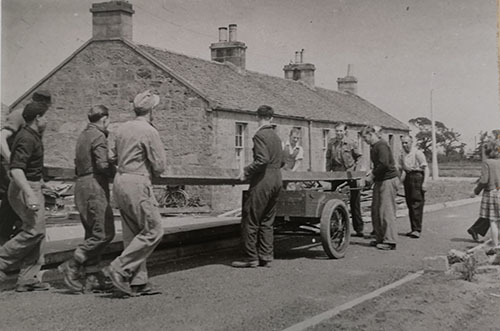 POWS from Sighthill Camp 1947