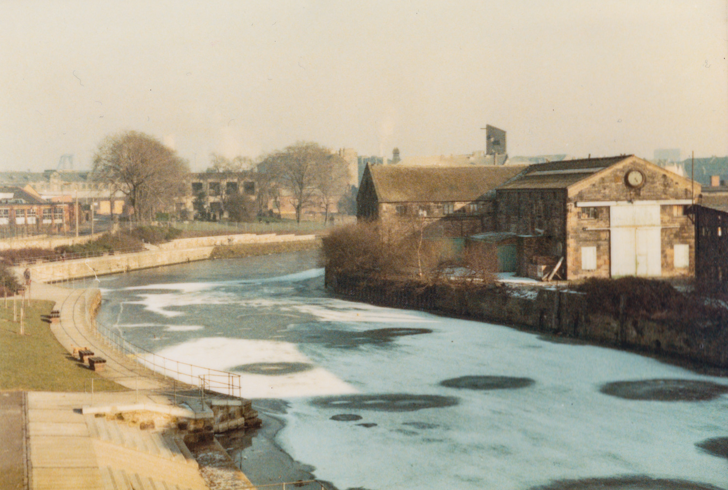 Water of Leith back