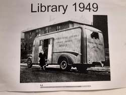 First Mobile Library Van 1949