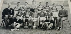 Murrayburn Primary School Football Team-Inspectors Cup Winners 1959/60