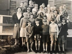 Miss Alison and Class 1950s (Possibly Middleton Camp)