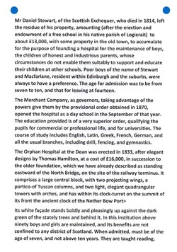 """""""Old and New Edinburgh THE NISBETS OF DEAN"""" PAGE 7"""