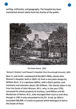 """""""Old and New Edinburgh THE NISBETS OF DEAN"""" PAGE 8"""