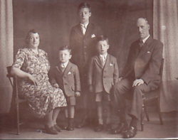 The Mason Family, they lived in 5 Stewart Terrace, Gorgie.