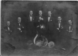 Dave Greenhill and his dance band, Avalon