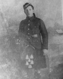 David Greenhill, WWI