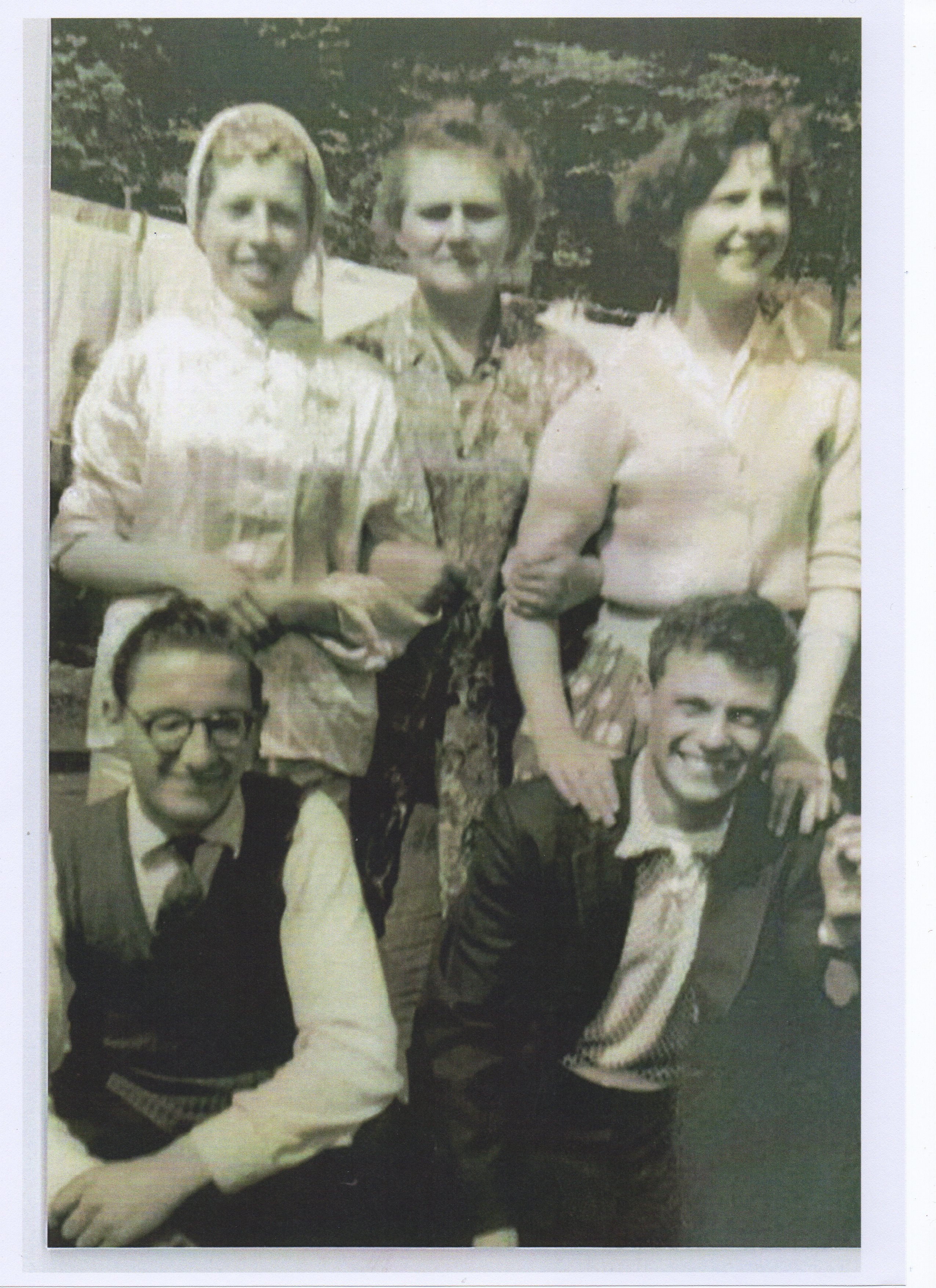A Family photo, from left to right - Norma, Mum