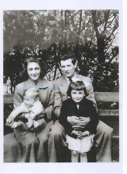 A Lovely photo of Babs., Dave Hales her Husband and Baby