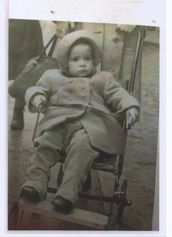 This is me in my Push Chair aged 3.