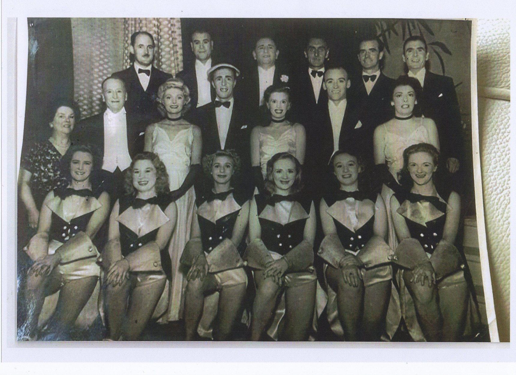Cast of the Lex McLean Show.