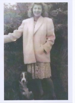 Another Sister Barbara pictured with our pet dog.