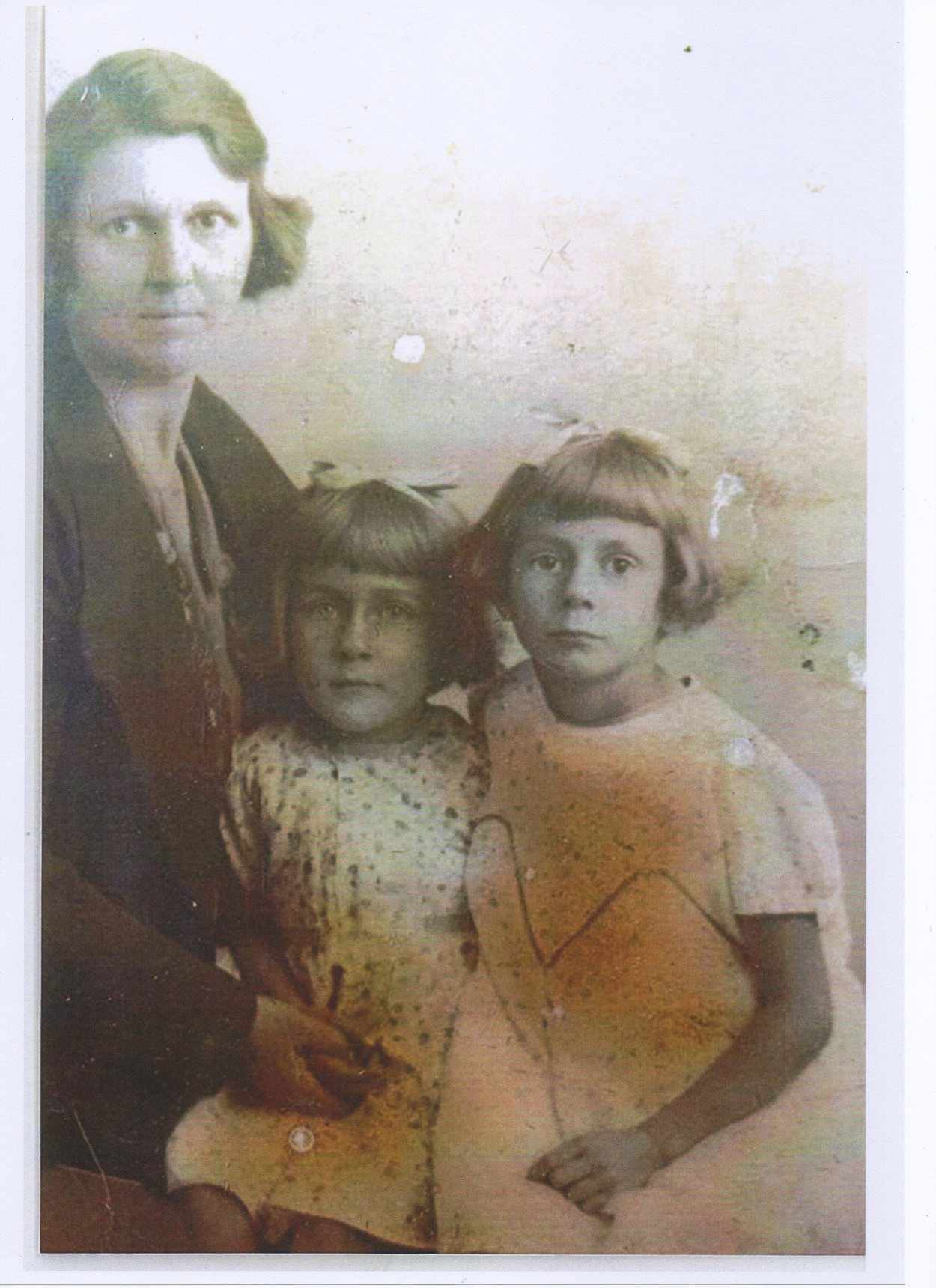 My Mother with my Sisters Barbara and Dot