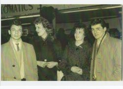 Left to Right : Ian my Brother with his Fiance Anne Maggie and Bruce their friends.