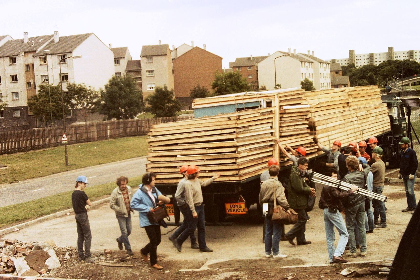 Building The Huts