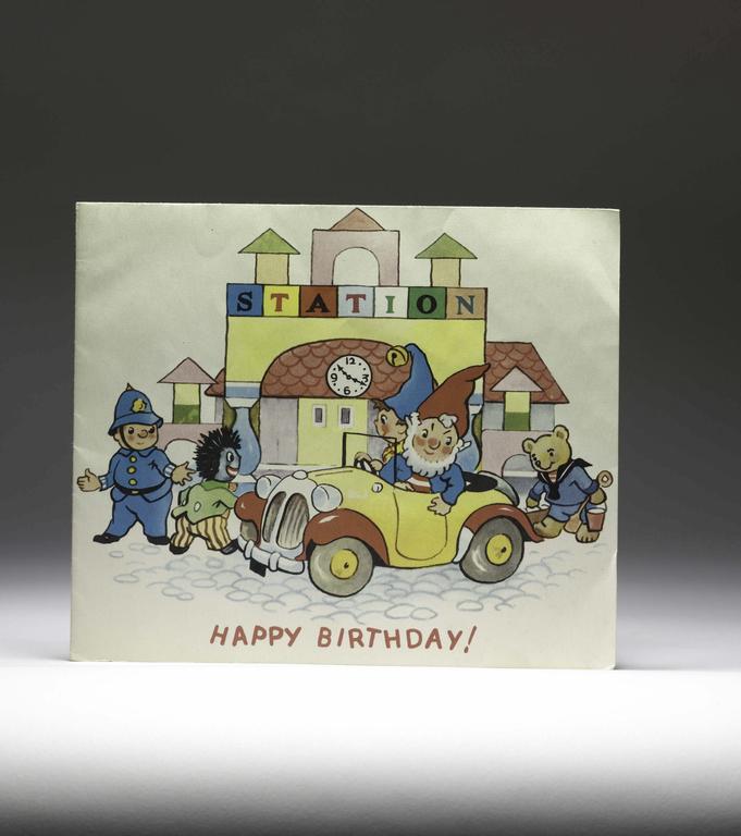 Noddy and Friends Birthday Card