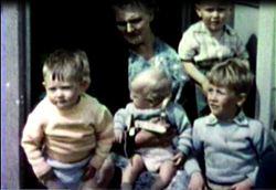 Mum with 5 of her grandchildren.