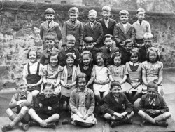 My Brother Ian pictured in his Dean School Class Photo.