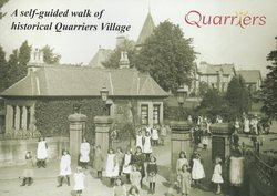 "Quarriers sent me this booklet "" A self-guided walk of historical Quarriers Village ""."