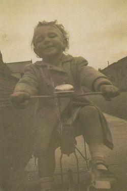 Me on my Bike at Ravelston Terrace,