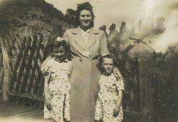 Avril, Mum & Me - being the youngest.