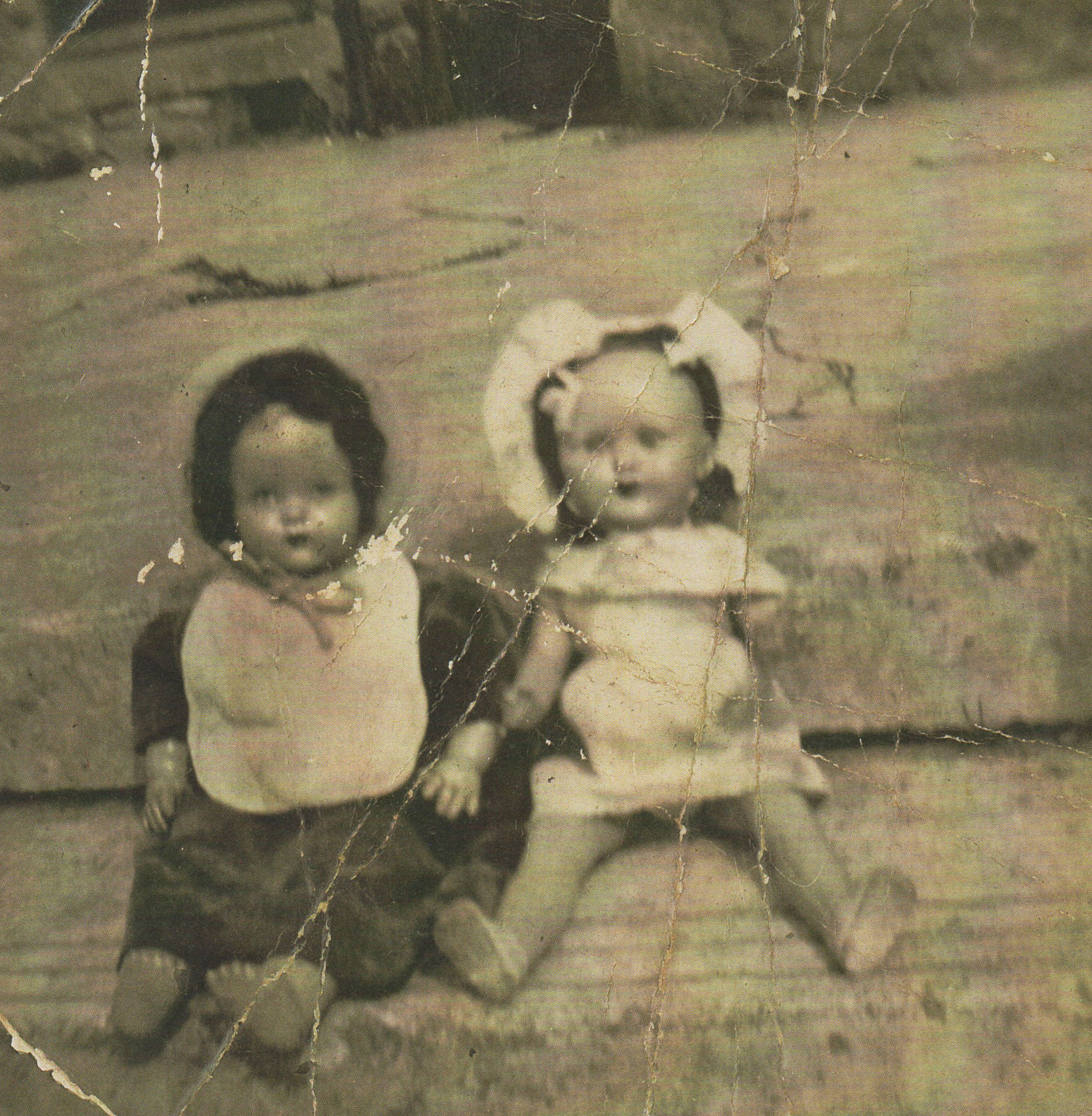 My Doll on the right was called Polly.