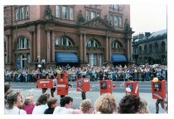Jazz train, Jazz Festival parade 1987