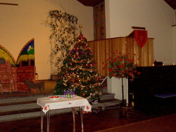 Christmas Eve at St John's Church, Oxgangs