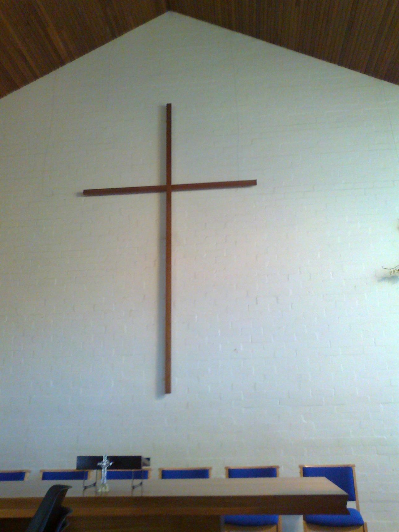 Cross at St John's Church, Oxgangs