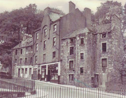 George Burns Grocery & Confectionery Shop, Dean Path, Dean Village.