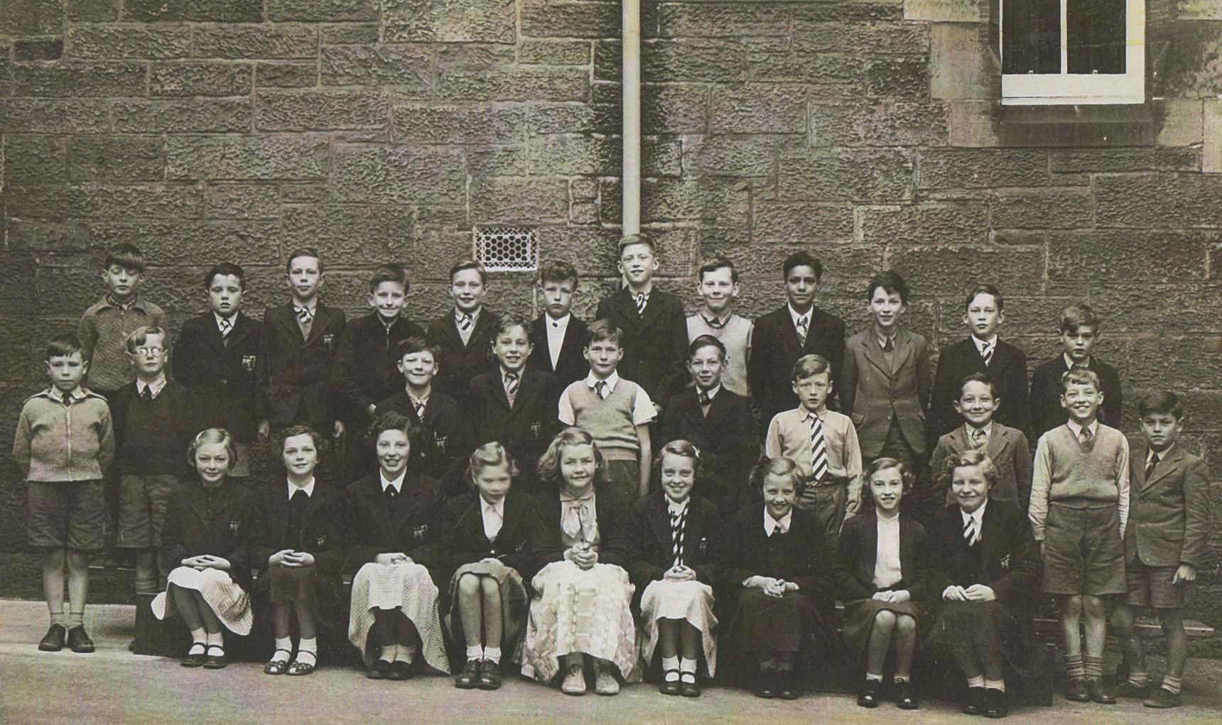 1956 - My Dean School Class Photo.