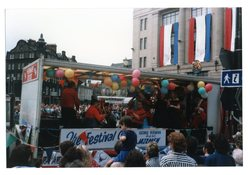 George Perman and his jazzmen festival float Jazz Festival 1987